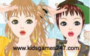 Miniclip game Make up games 050