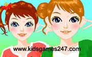 Miniclip game Make up games 052