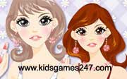 Miniclip game Make up games 054