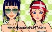 Miniclip game Make up games 055