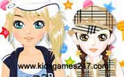 Miniclip game Make up games 057