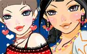 Miniclip game Make up games 090