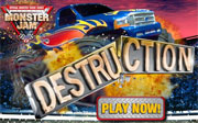 Miniclip game Monster jam destruction jocuri