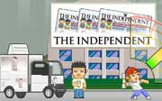 Miniclip game News paper delivery