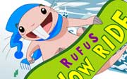 Miniclip game Rufus snow ride