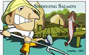 Miniclip game Shooting salmon