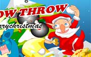 Miniclip game Snow throw
