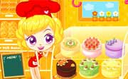 Miniclip game Sue cake house