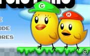 Miniclip game Super chick sisters