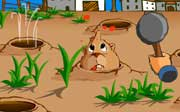 Miniclip game Whack a ground hog